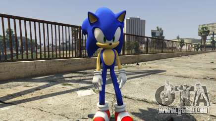 Sonic The Hedgehog für GTA 5