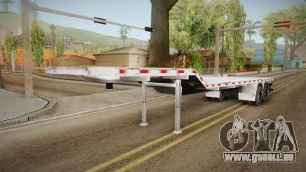 American Flatbed (Multiple) Trailer pour GTA San Andreas
