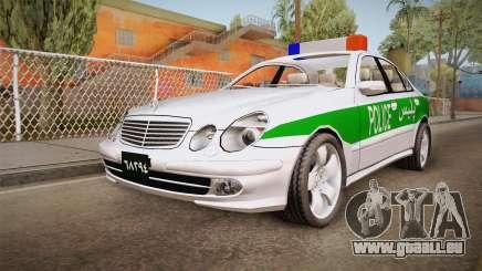 Mercedes-Benz E500 Iranian Police pour GTA San Andreas