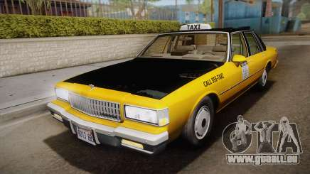 Chevrolet Caprice Taxi 1989 IVF pour GTA San Andreas