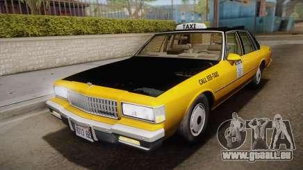 Chevrolet Caprice Taxi 1989 IVF für GTA San Andreas