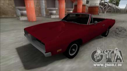 Dodge Charger RT Cabrio pour GTA San Andreas