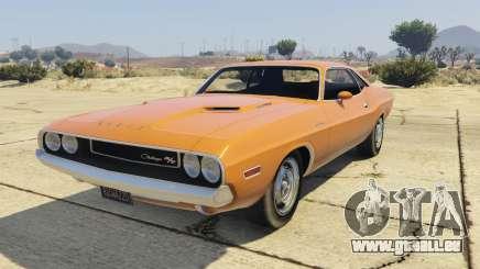 Dodge Challenger 70 für GTA 5