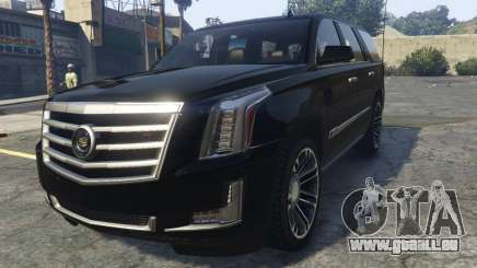 Cadillac Escalade FBI pour GTA 5