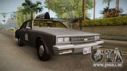 Chevrolet Impala Taxi 1985 pour GTA San Andreas
