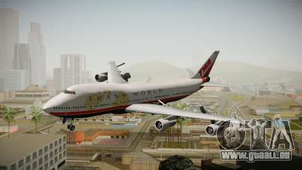 Boeing 747 TWA Final Livery für GTA San Andreas