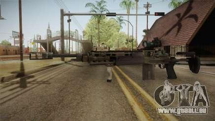 Battlefield 4 - M39 EMR für GTA San Andreas