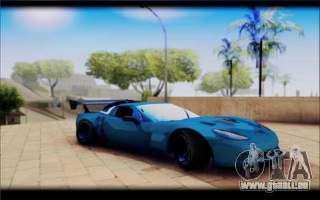 Chevrolet Corvett Z06 pour GTA San Andreas