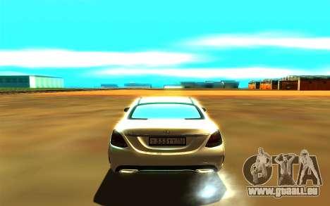 Mercedes-Benz C250 für GTA San Andreas rechten Ansicht