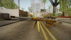 Cross Fire - M82A1 Born Beast Noble Gold pour GTA San Andreas
