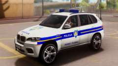 BMW X5 Croatian Police Car für GTA San Andreas