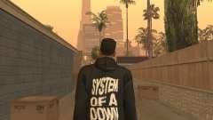 System of a Down Black Hoody v1