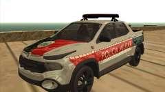 Fiat Toro Police Military