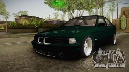 BMW 320i E36 BORBET für GTA San Andreas