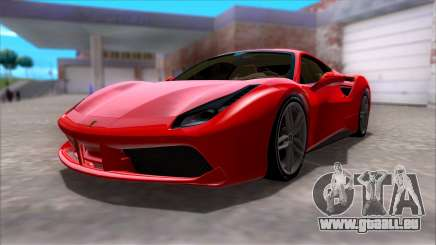 Ferrari 488 pour GTA San Andreas