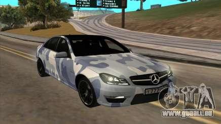 Mersedes-Benz C63 AMG pour GTA San Andreas