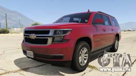 Chevrolet Suburban 2016 pour GTA 5