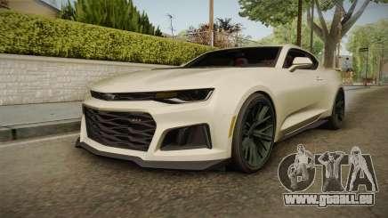 Chevrolet Camaro ZL1 2017 pour GTA San Andreas