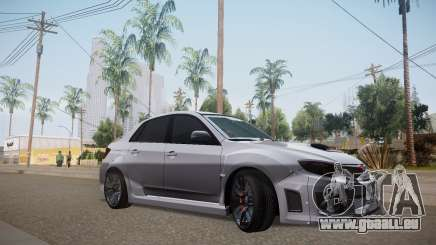 Subaru Impreza WRX STI 2009 TUNED pour GTA San Andreas