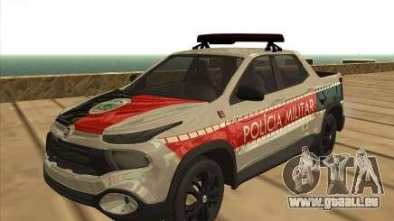 Fiat Toro Police Military pour GTA San Andreas