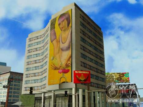 GTA V Billboards v2 pour GTA San Andreas troisième écran