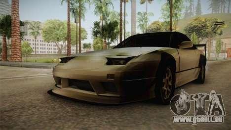 Nissan 240SX Lowpoly pour GTA San Andreas