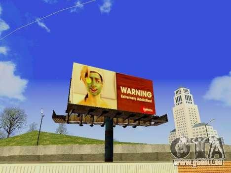 GTA V Billboards v2 pour GTA San Andreas deuxième écran