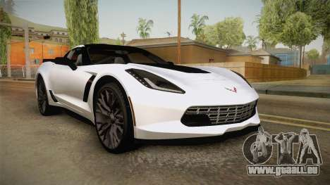 Chevrolet Corvette Stingray Z06 pour GTA San Andreas
