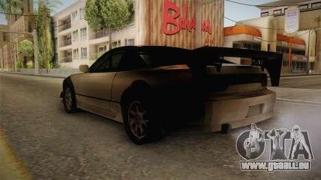 Nissan 240SX Lowpoly pour GTA San Andreas laissé vue