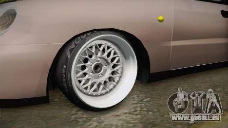 Daewoo Lanos Sedan 2001 pour GTA San Andreas vue arrière