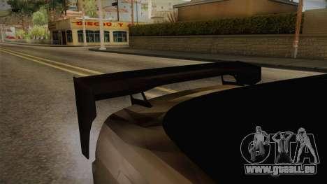 Nissan 240SX Lowpoly pour GTA San Andreas vue arrière