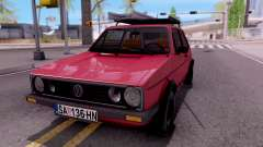 Volkswagen Golf Mk1 Yugoslav