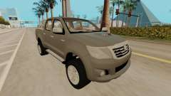 Toyota Hilux silver pour GTA San Andreas