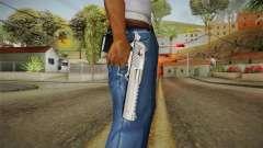 Desert Eagle Silver Chrome für GTA San Andreas