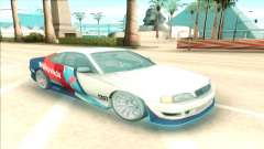 Nissan Silvia S15 Facelift Chaser Valvoline pour GTA San Andreas