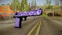 Tiger Violet Desert Eagle pour GTA San Andreas