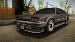 GTA 4 Dinka Hakumai Tuned Bumpers für GTA San Andreas