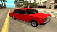 2107 rouge pour GTA San Andreas