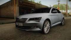 Skoda Superb 2017 für GTA San Andreas