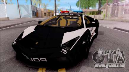 Lamborghini Reventon High Speed Police für GTA San Andreas