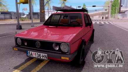 Volkswagen Golf Mk1 Yugoslav pour GTA San Andreas