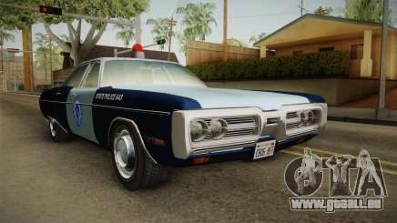 Plymouth Fury 1972 Massachusetts State Police für GTA San Andreas