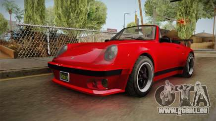 GTA 5 Pfister Comet Retro Cabrio IVF für GTA San Andreas