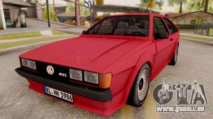 Volkswagen Scirocco Mk2 Stock pour GTA San Andreas