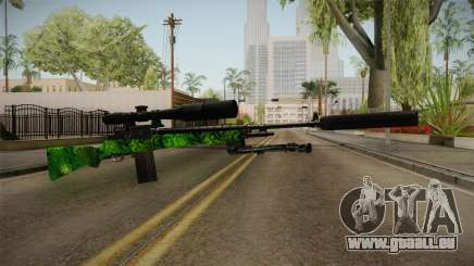 Green Sniper Rifle für GTA San Andreas