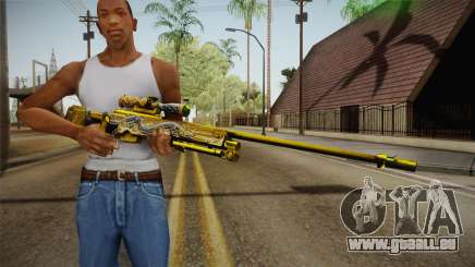 Cross Fire - AWM Infernal Oragon Noble Gold für GTA San Andreas