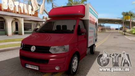 Volkswagen Transporter T5 Selidbe pour GTA San Andreas