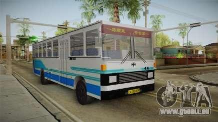 Huanghai DD6111CT Suburban Bus Blue für GTA San Andreas