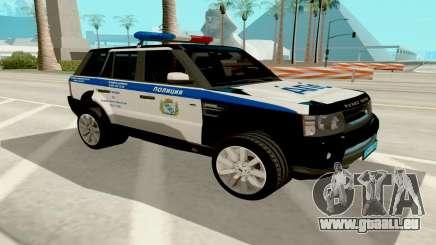 Range Rover Sport Police pour GTA San Andreas