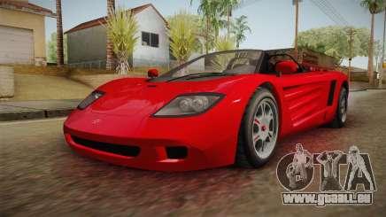 GTA 5 Progen GP1 Roadster für GTA San Andreas
